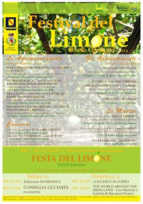 Festival del limone a Massa Lubrense